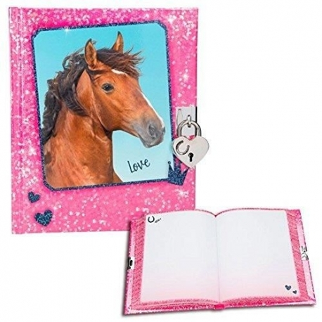 Horses Dreams: Journal Intime Cheval Rose
