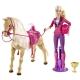 Barbie et son cheval de dressage