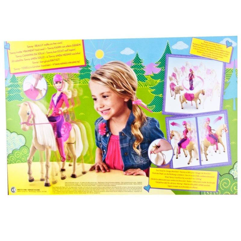 Barbie et son cheval de dressage - Barbie et son cheval ...