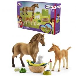 Kit De Soin Pour Bébé Animaux Horse Club Sarah Schleich