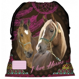Sac De Sport Cheval Marron