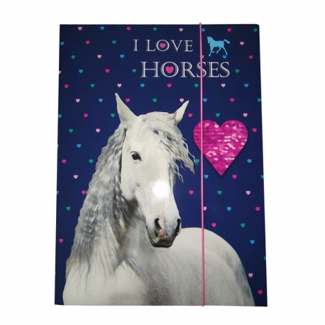 Chemise A4 Cheval Andalou