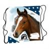 Sac De Sport Cheval Bleu