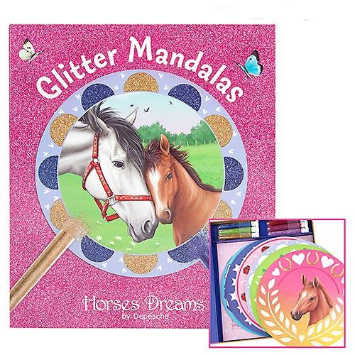 Coffret Créatif Mandalas Chevaux Horses Dreams