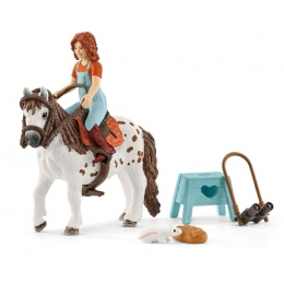 Horse Club Mia Et Son Poney Spotty Schleich
