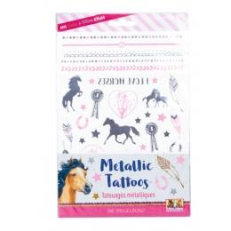 Tatouages Métalliques Cheval