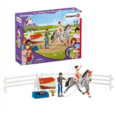 Kit De Voltige Equestre Horse Club Mia