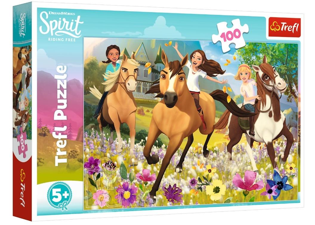 Puzzle Cheval Spirit 100 Pièces