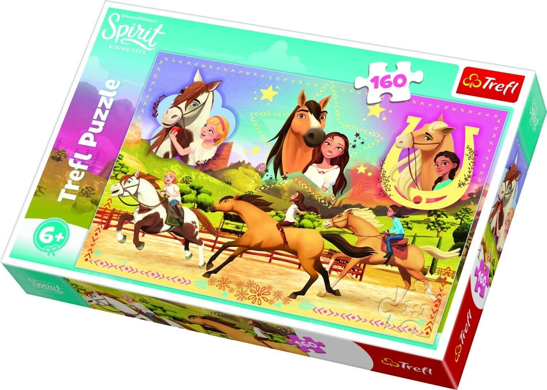Puzzle Cheval Spirit 160 Pièces