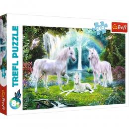 Puzzle Licornes 260 Pièces