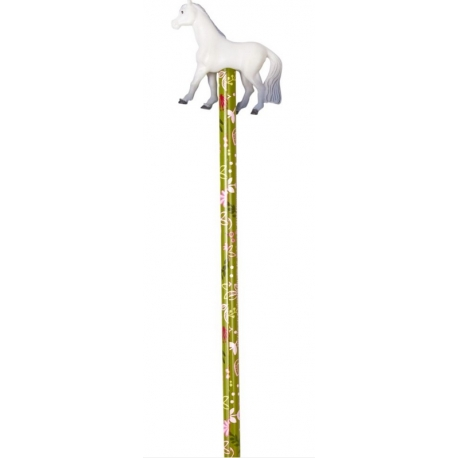 Crayon avec Figurine cheval
