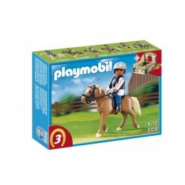 Playmobil - Cheval Halflinger et Ecuyère