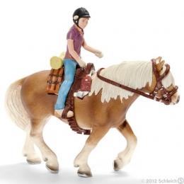 Set équitation pour poney, camping Schleich
