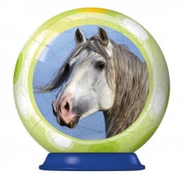 Puzzle Ball Cheval Gris - 54 Pieces