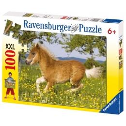 Puzzle Poney 100 pièces XXL