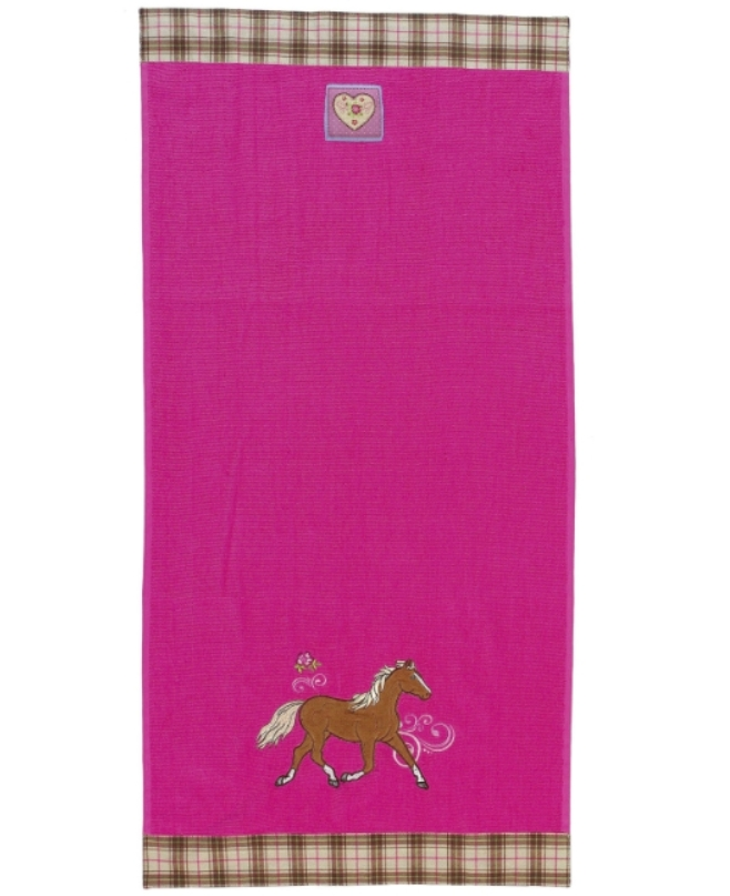 Serviette de Toilette Rose Cheval