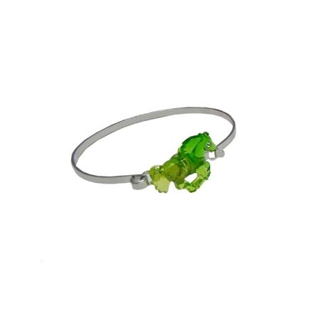 Bracelet Rigide Cheval