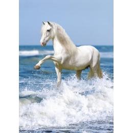 Puzzle chevaux dans les vagues 1000 pièces
