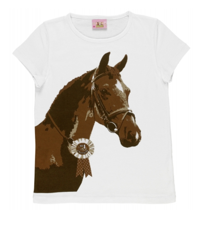 Tee Shirt Manches Courtes Cheval
