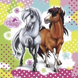 Serviettes Anniversaire Cheval Charming Horses
